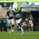 Michigan State Spartans wide receiver Aaron Burbridge