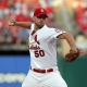 St. Louis Cardinals starting pitcher Adam Wainwright