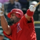 Albert Pujols of the Los Angeles Angels