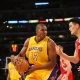 Andrew Bynum of the LA Lakers