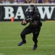 Running back Anthony Scott of the East Carolina Pirates