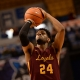 Loyola Chicago Ramblers forward Aundre Jackson