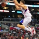 Blake Griffin dunks for the Los Angeles Clippers.