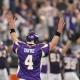 Minnesota Vikings quarterback Brett Favre.