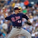 Minnesota Twins starting pitcher Carl Pavano