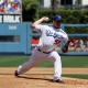 Los Angeles Dodgers starting pitcher Chad Billingsley