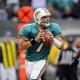 Miami Dolphins quarterback Chad Henne