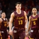 Loyola-Chicago Ramblers guard Clayton Custer