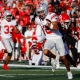 college football picks Chris Olave ohio state buckeyes predictions best bet odds