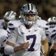 Kansas State Wildcats quarterback Collin Klein