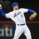 New York Mets third baseman No. 5 David Wright