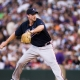 Derek Lowe of the Atlanta Braves