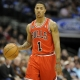 Chicago Bulls point guard Derrick Rose