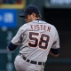 Detroit Tigers starting pitcher Doug Fister