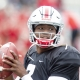 Dwayne Haskins of the Ohio State Buckeyes