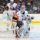 New York Islanders goalie Dwayne Roloson.