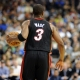 Miami Heat shooting guard Dwyane Wade