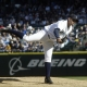 Seattle Mariners starting pitcher No. 34 Felix Hernandez