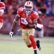 San Francisco 49ers running back Glen Coffee.