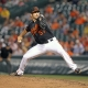 Baltimore Orioles rookie pitcher Jake Arrieta