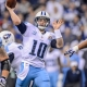 Tennessee Titans quarterback Jake Locker
