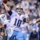 Tennessee Titans quarterback Jake Locker