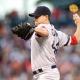 Boston Red Sox starting pitcher Jake Peavy