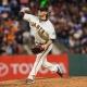 San Francisco Giants starting pitcher Jake Peavy