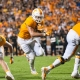 Tennessee Volunteers running back Jalen Hurd