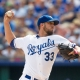 James Shields of the Kansas City Royals