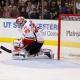 Calgary Flames goalie Joey MacDonald