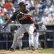 Braves starting pitcher Julio Teheran