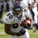 Denver Broncos tight end Julius Thomas