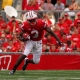 Kenzel Doe, wide receiver of Wisconsin