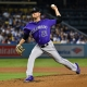 Colorado Rockies pitcher Kyle Freeland