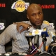 Lamar Odom of the Los Angeles Lakers.