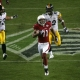 Larry Fitzgerald (11) of the Cardinals.