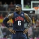 LeBron James of team USA