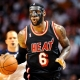 The Miami Heat's LeBron James