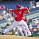 Washington Nationals pitcher Livan Hernandez