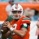 University of Miami Hurricanes Quarterback Malik Rosier