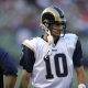 St. Louis Rams quarterback Marc Bulger.