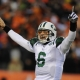 NY Jets quaterback No. 6 Mark Sanchez.