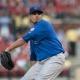 Chicago Cubs starting pitcher Matt Garza