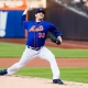 New York Mets Starting pitcher Matt Harvey