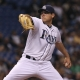 Rays starting pitcher Matt Moore