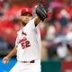 St. Louis Cardinals starting pitcher Michael Wacha