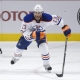 Edmonton Oilers right wing Mike Brown