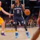 Guard Mike Conley of the Memphis Grizzlies