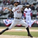 Detroit Tigers starting pitcher Mike Fiers
